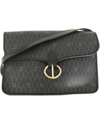3c0506058339 Dior - Pre-owned Vintage Navy Cloth Handbags - Lyst