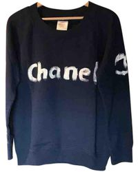 Chanel - Blue Cotton Top - Lyst