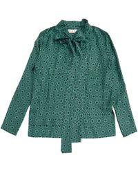 Marni - Pre-owned Silk Blouse - Lyst