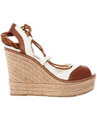 Ralph Lauren Collection - Pre-owned Leather Sandals - Lyst
