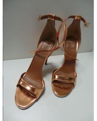 Givenchy - Pink Leather Sandals - Lyst