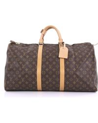 Louis Vuitton - Keepall Cloth Travel Bag - Lyst