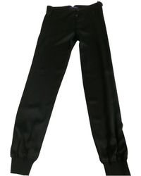 Ralph Lauren Collection - Silk Trousers - Lyst