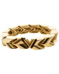 Louis Vuitton - Essential V Gold Metal - Lyst