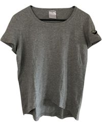 Chanel - Grey Cotton Top - Lyst
