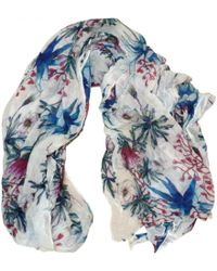 Maje - White Other Scarves - Lyst