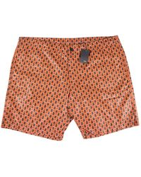 Fendi Orange Polyester Swimwear