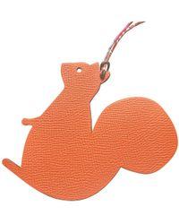 Hermès - Petit H Leather Bag Charm - Lyst