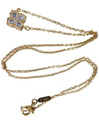 Cartier - Yellow Gold Necklace - Lyst
