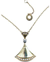 BVLGARI - Diva's Dream Gold Yellow Gold Necklace - Lyst