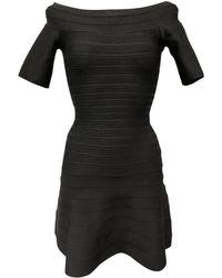 Hervé Léger - Pre-owned Mini Dress - Lyst