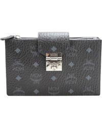 MCM - Leather Clutch Bag - Lyst