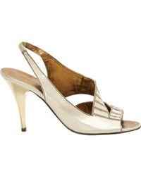 Pre-owned - Leather heels Roberto Cavalli dbHE1rv