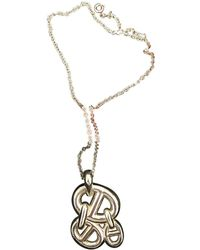 Hermès - Pre-owned Farandole Silver Necklace - Lyst
