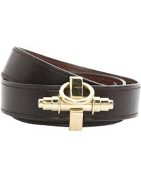 Givenchy - Pre-owned Obsedia Leather Bracelet - Lyst