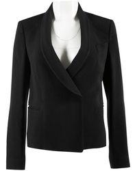 Chloé - Black Synthetic Jacket - Lyst