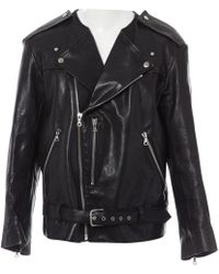 Marc Jacobs - Leather Biker Jacket - Lyst