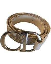 Dior | Leather Belt | Lyst