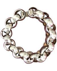 Chanel - Silver Silver Bracelets - Lyst