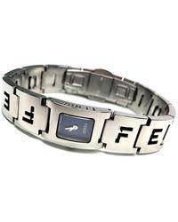 Fendi - Silver Steel Watches - Lyst