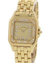Cartier - Panthère Gold Yellow Gold - Lyst