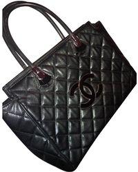 Chanel - Pre-owned Leather Shoulder Bag - Lyst