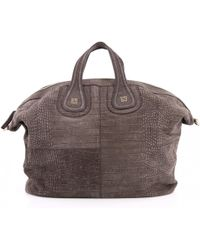 1b7422f6cd Givenchy Nightingale Small Tote Mastic in Brown - Lyst