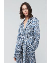 Victoria Beckham - Cherub Print Pajama Shirt - Lyst