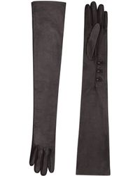 Victoria Beckham - Leather Gloves Fitted - Lyst