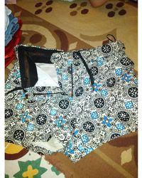 Louis Vuitton Short coton bleu