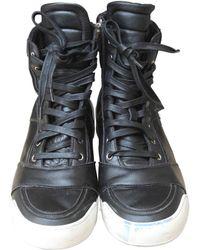 Cuir À Chaussures Noir Chaussures À Cuir Lacets Lacets J3ulTFK1c