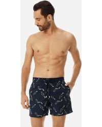 Vilebrequin - Men Swimtrunks Embroidered Fish Dance - Limited Edition - Lyst