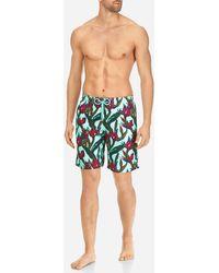 Vilebrequin - Men Long Swimwear Paradise 3d - Lyst