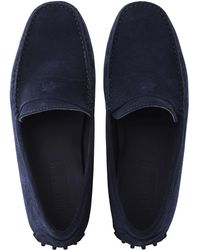 Vilebrequin - Men Very Soft Daim Loafers Solid - Lyst