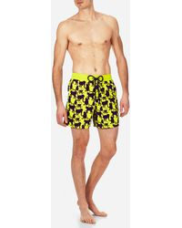 Vilebrequin - Men Swimwear Flocked Happy Monkey - Lyst