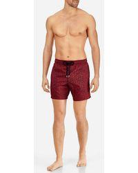 Vilebrequin - Men Lightweight And Packable Swimwear Mini Fish - Lyst