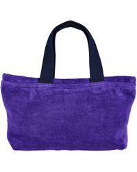 Vilebrequin - Beach Pouch In Terry Cloth Solid Jacquard - Lyst