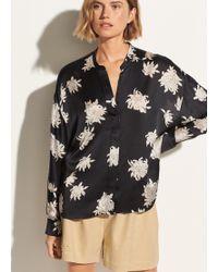 Vince - Chrysanthemum Pocket Blouse - Lyst