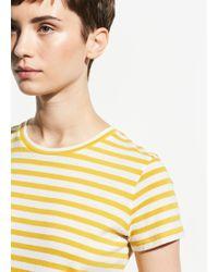 Vince - Bengal Stripe Essential Cotton Crew - Lyst