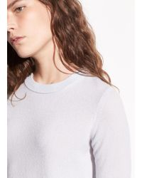 Vince - Overlay Cashmere Crew - Lyst