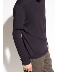 Vince - Double Layer Long Sleeve - Lyst