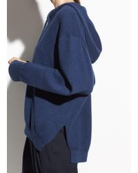 Vince - Oversized Cotton Hoodie - Lyst