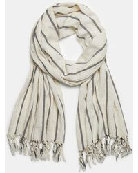 Vince - Bar Stripe Scarf - Lyst