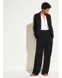Vince - Belted Wide Leg - Lyst