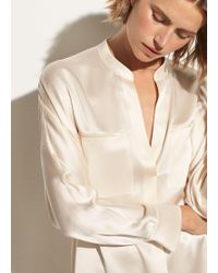 Vince - Collar Band Popover - Lyst