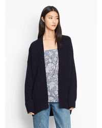 Vince - Cashmere Boxy Cardigan - Lyst