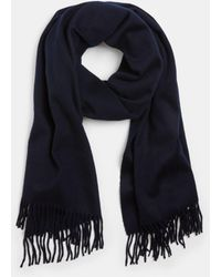 Vince - Brushed Wool Scarf - Lyst