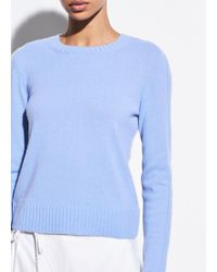 Vince - Ribbed Cashmere Crew - Lyst