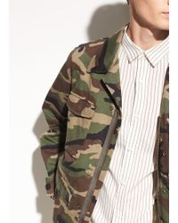 Vince - Cotton Military Jacket - Lyst