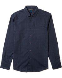 Vince Camuto - Dobby-dotted Sport Shirt - Lyst